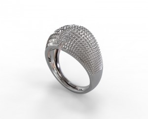 Ring by Grasshopper of Rhino 3D